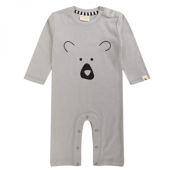 Turtledove London Bear Face  Rompersuit