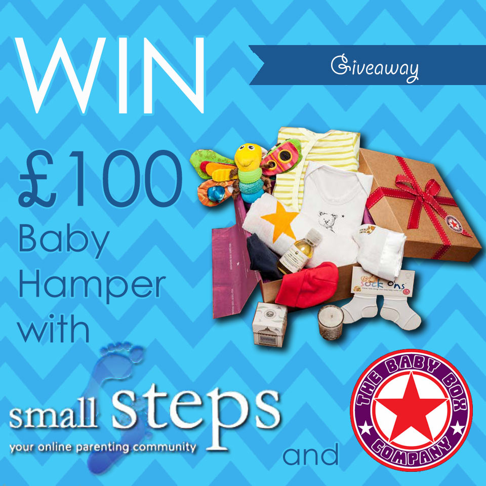 Win a Luxury Baby Hamper with Small Steps Parenting