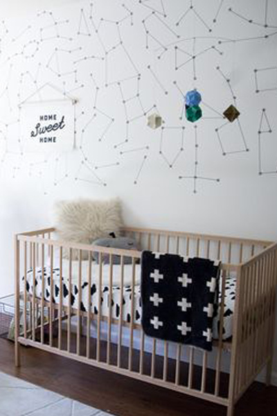 Space nursery decor 3